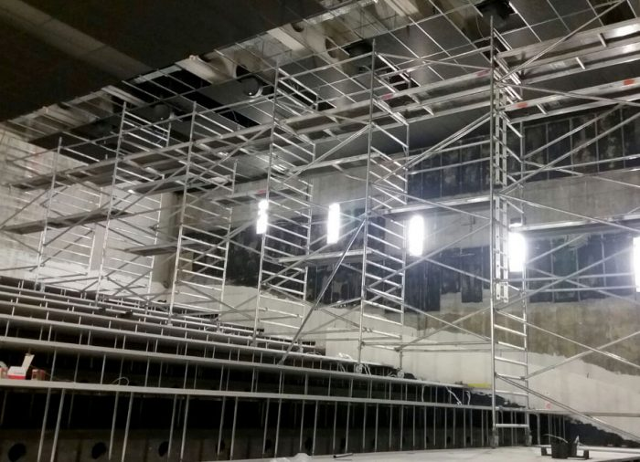LET Technik | Referenz: Umbau UCI Luxe Potsdam